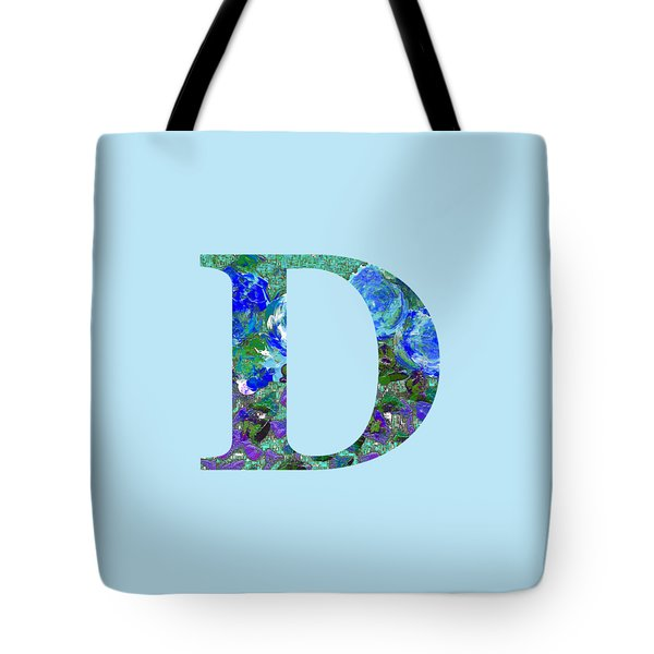 Tote Bag featuring the digital art D 2019 Collection by Corinne Carroll