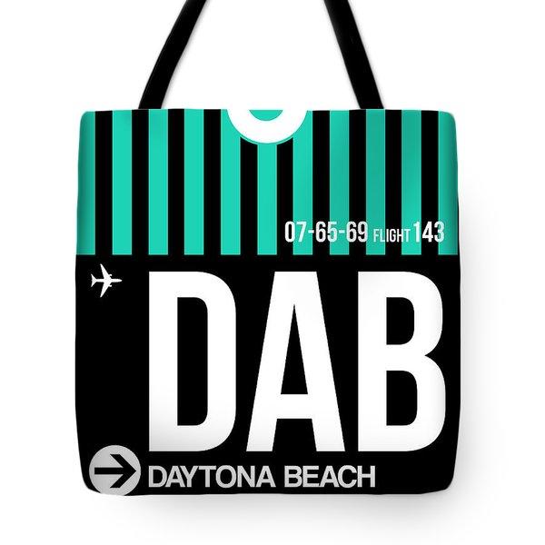 Dab Daytona Beach Luggage Tag II Tote Bag