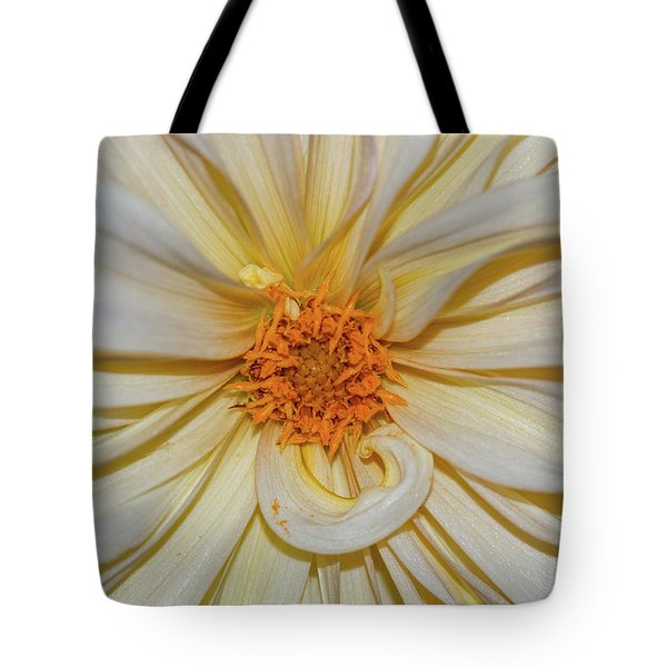 Tote Bag featuring the photograph Dahlia Summertime Beauty by Claire Turner