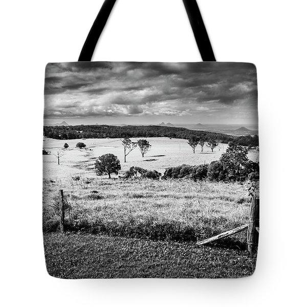 Dahmongah Lookout, Mount Mee Tote Bag