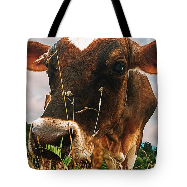 Dairy Cow Tote Bag