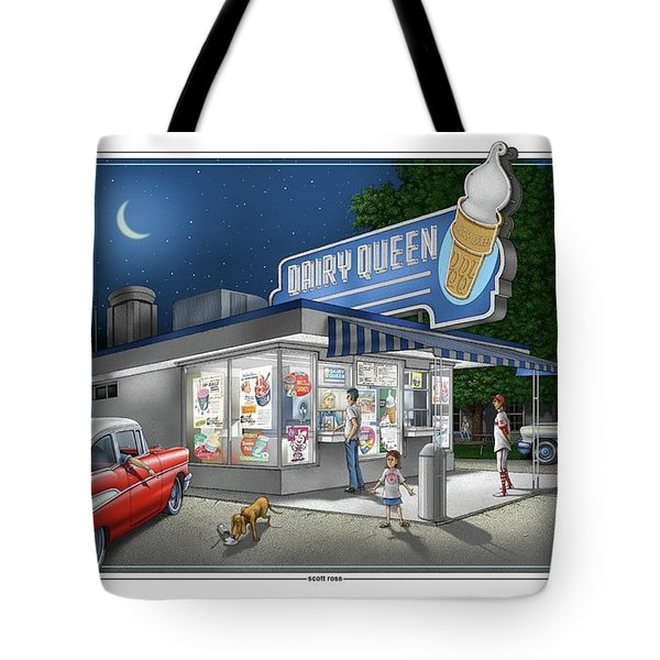 Dairy Queen Tote Bag