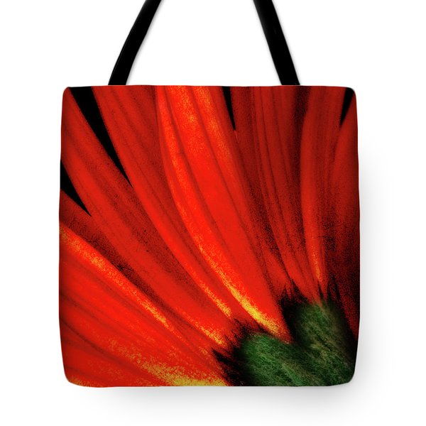 Daisy Aflame Tote Bag