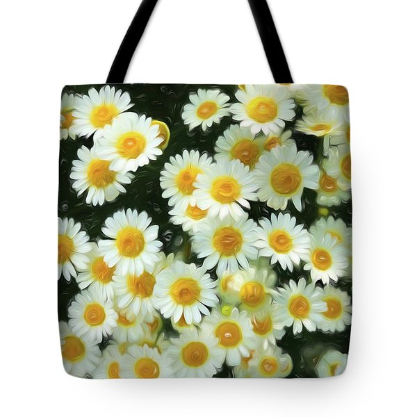 Daisy Crazy For You Tote Bag