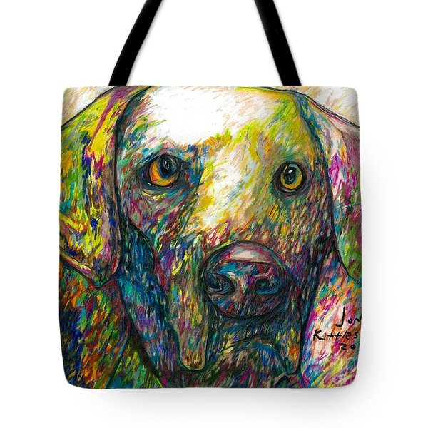 Daisy The Dog Tote Bag