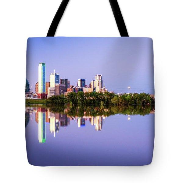 Dallas Texas Houston Street Bridge Tote Bag
