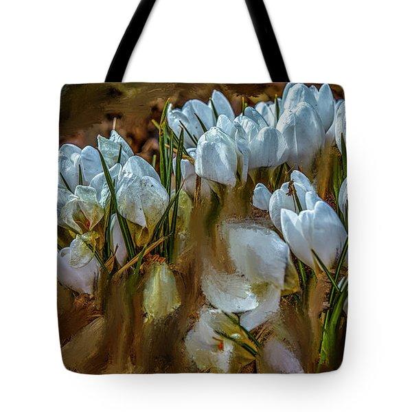 Dance In White #i6 Tote Bag