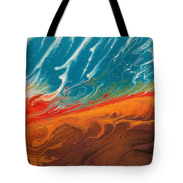 Creation Dance Tote Bag