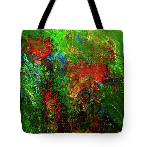 Dance Of The Dragon Tote Bag