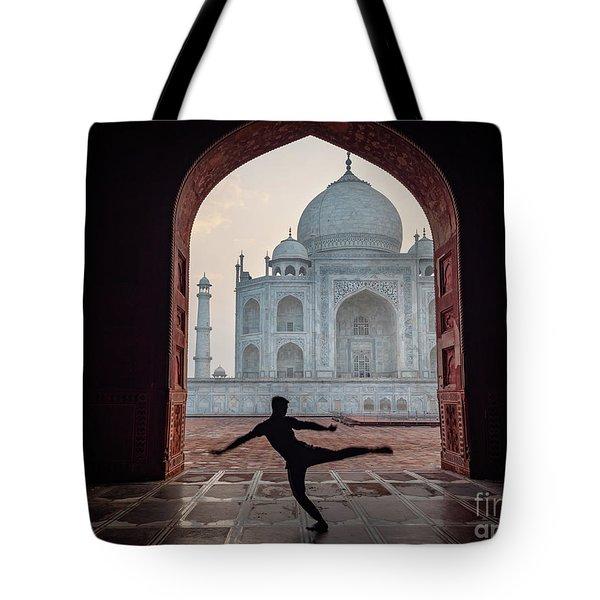 Dancer At The Taj Tote Bag