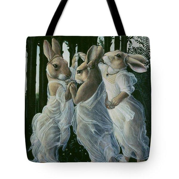 Dancing Graces Tote Bag