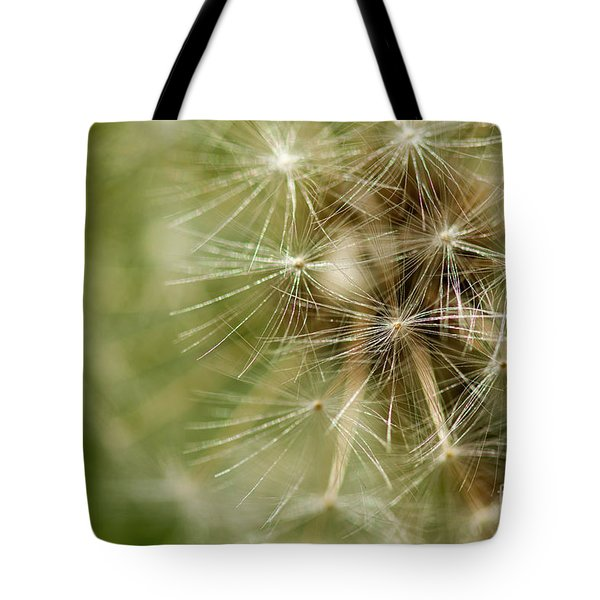 Dandelion Puff Ball Tote Bag