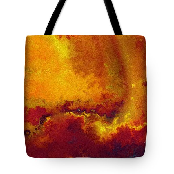 Daniel 6 27. He Delivers And Rescues Tote Bag