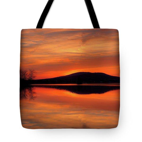 Dan's Sunset Tote Bag