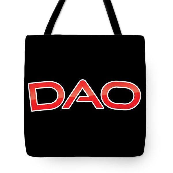 Dao Tote Bag