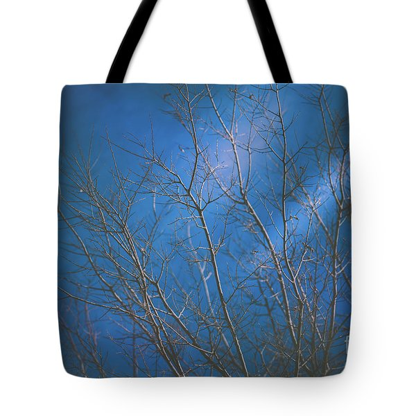 Dark Winter Tote Bag