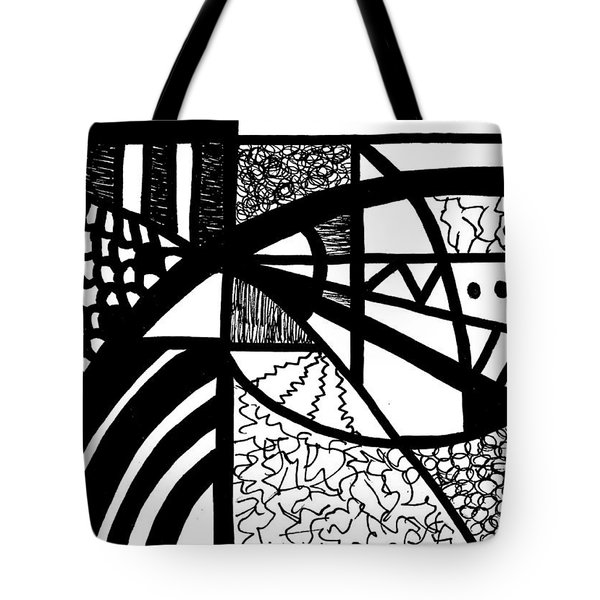 Darkness And Light 2 Tote Bag