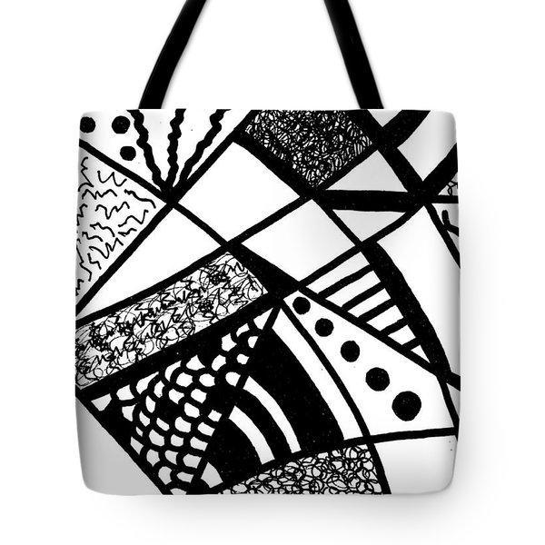 Darkness And Light 6 Tote Bag