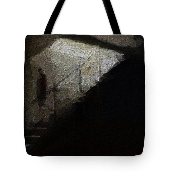 Darkness Welcomes You Tote Bag