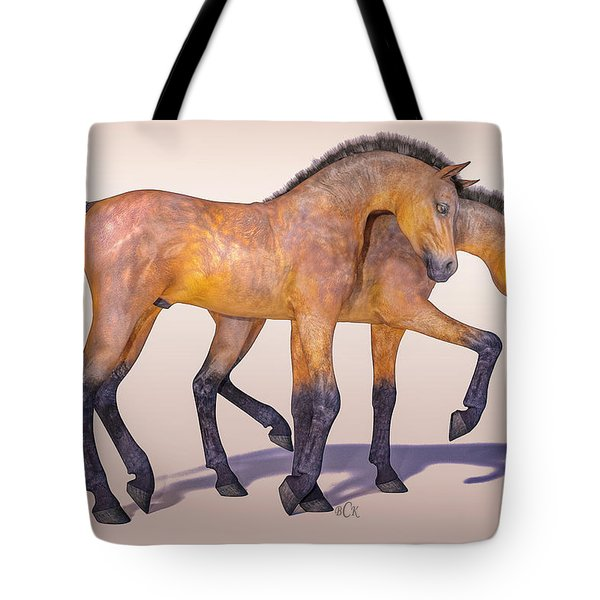 Darling Foal Pair Tote Bag