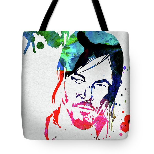 Daryl Watercolor Tote Bag