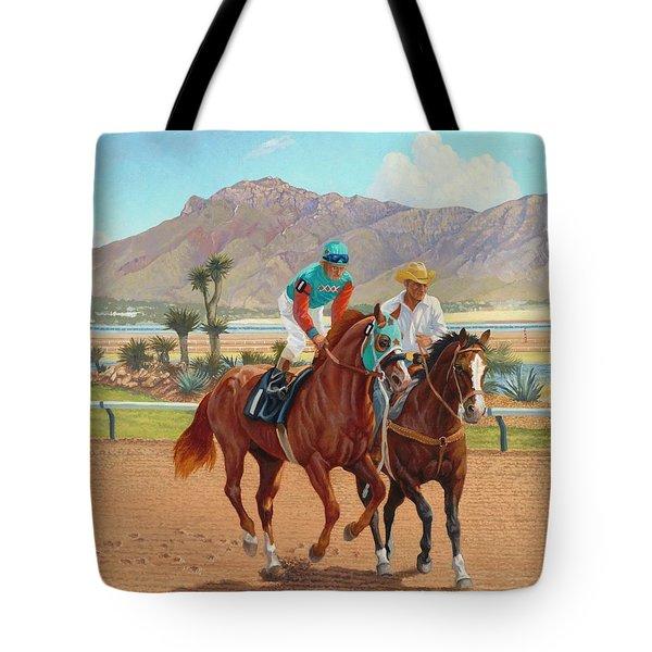 Dash For Cash Tote Bag