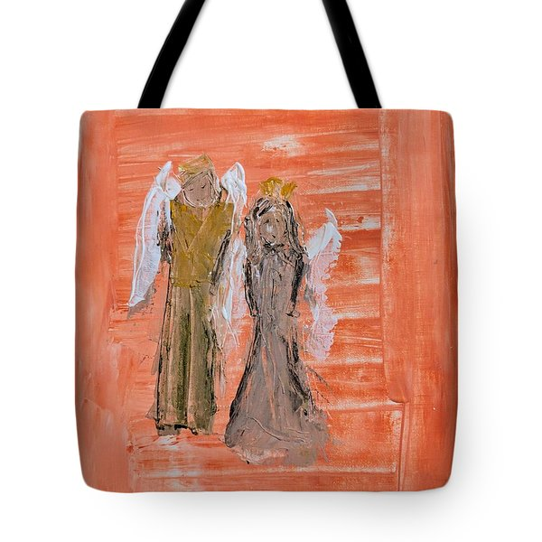 Dating Angels Tote Bag