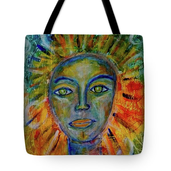 Daughter Of The Sun And Moon Tote Bag