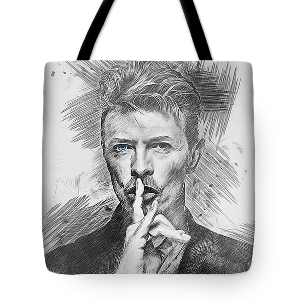 David Bowie. Tote Bag