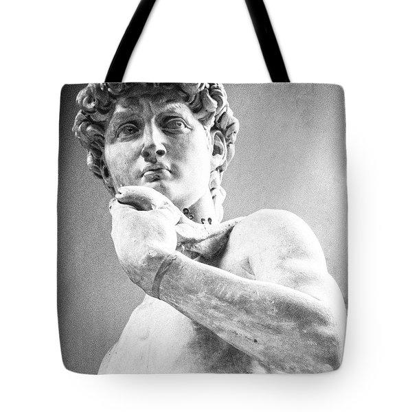 David Of Michelangelo Tote Bag