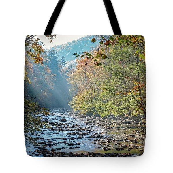 Dawn At Metcalf Bottoms Tote Bag