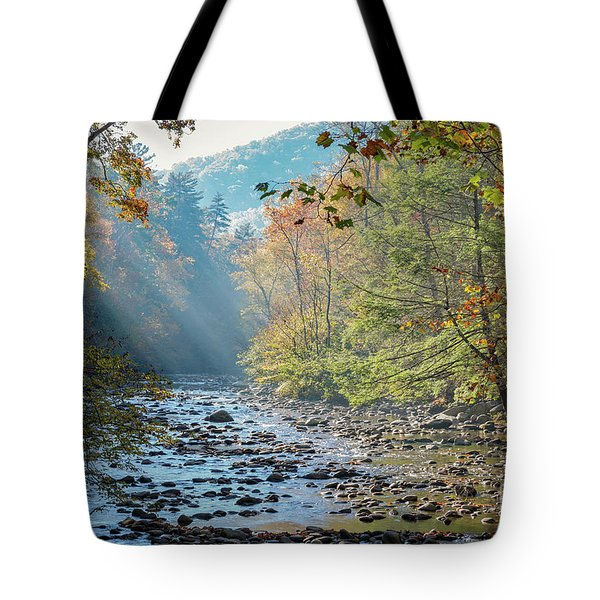 Dawn At Metcalf Bottoms Tote Bag