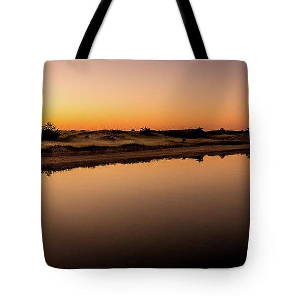 Dawn Light, Ogunquit River Tote Bag