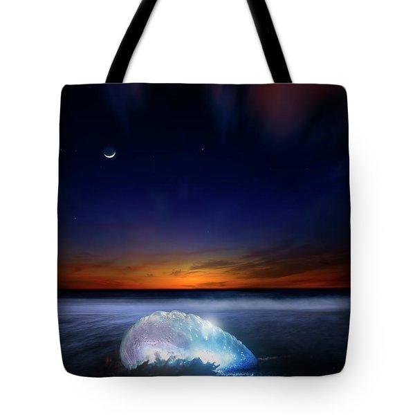 Dawn Of A Warrior Tote Bag