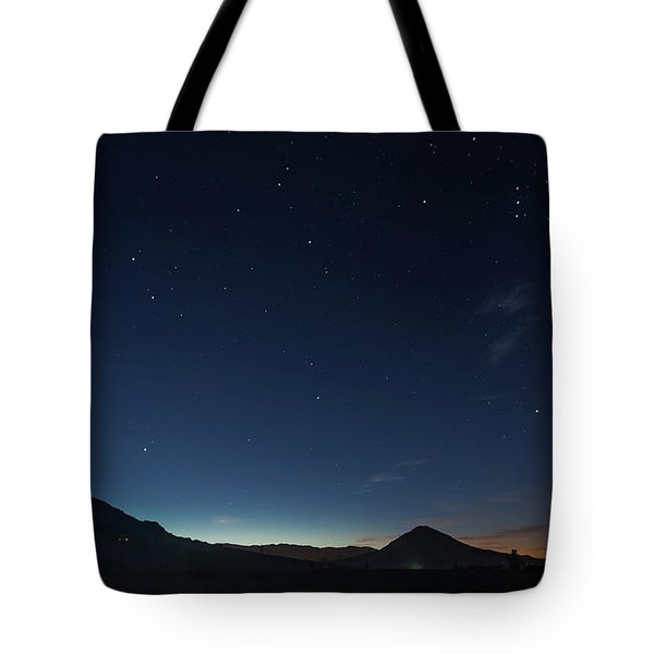Dawn's Early Light Tote Bag