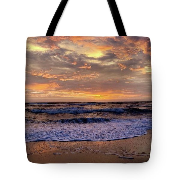 Tote Bag featuring the photograph Day After Storm 9/16/18 by Barbara Ann Bell