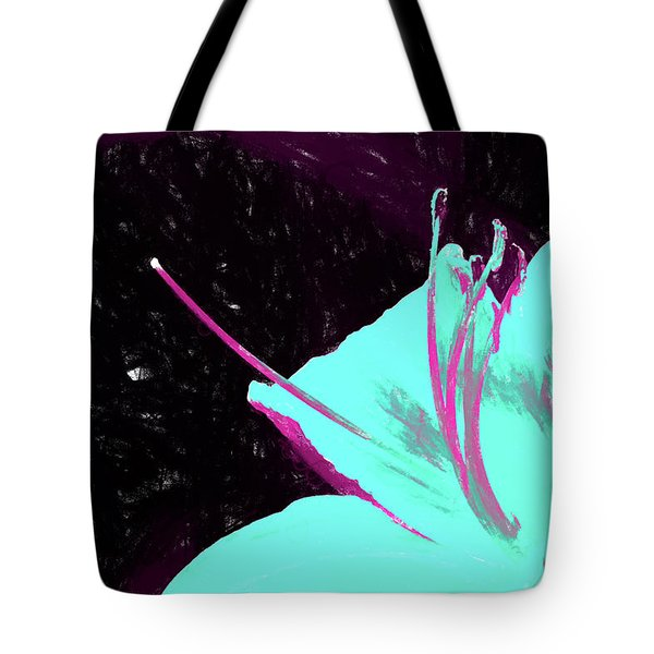 Day Lily Dual Tone  Tote Bag