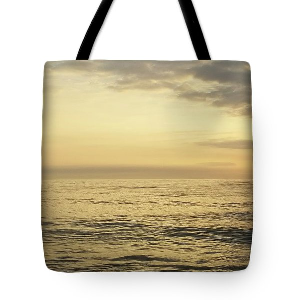 Tote Bag featuring the photograph Daybreak Over The Ocean 2 by Robert Banach