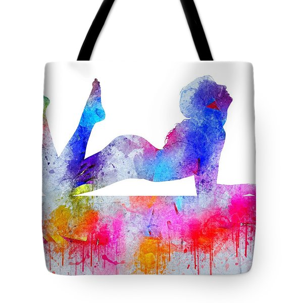 Daydream - Watercolor Nude Tote Bag