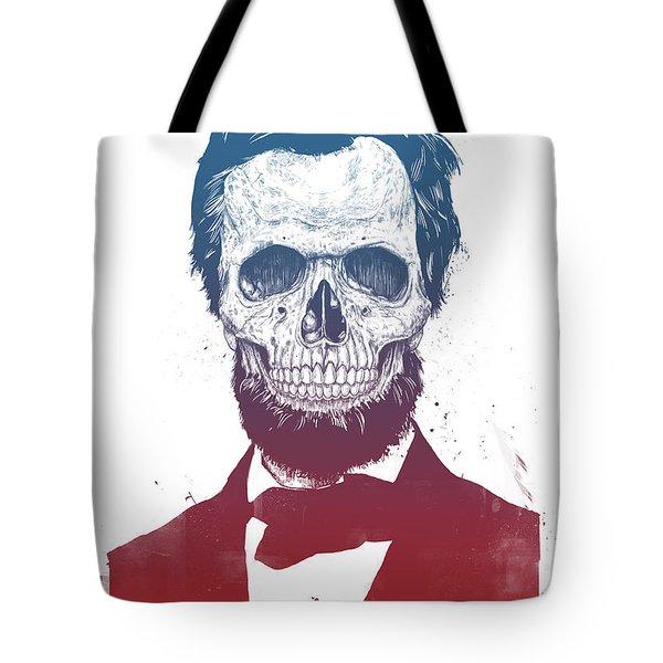 Dead Lincoln Tote Bag