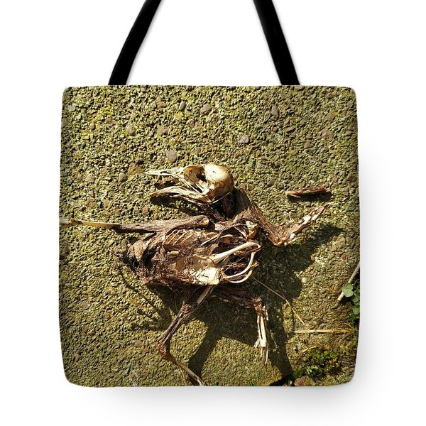 Death Shows Us We Are Nothing But Bones Tote Bag