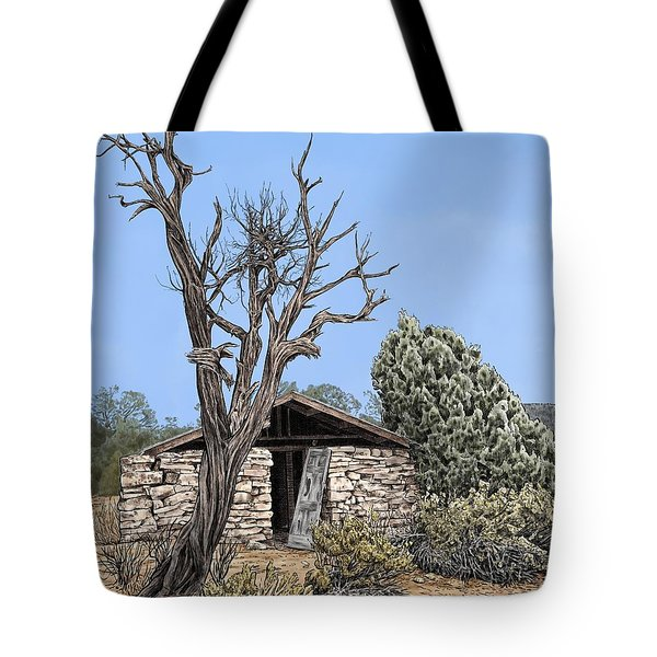 Decay Of Calamity The Half Life Of A Dream Tote Bag