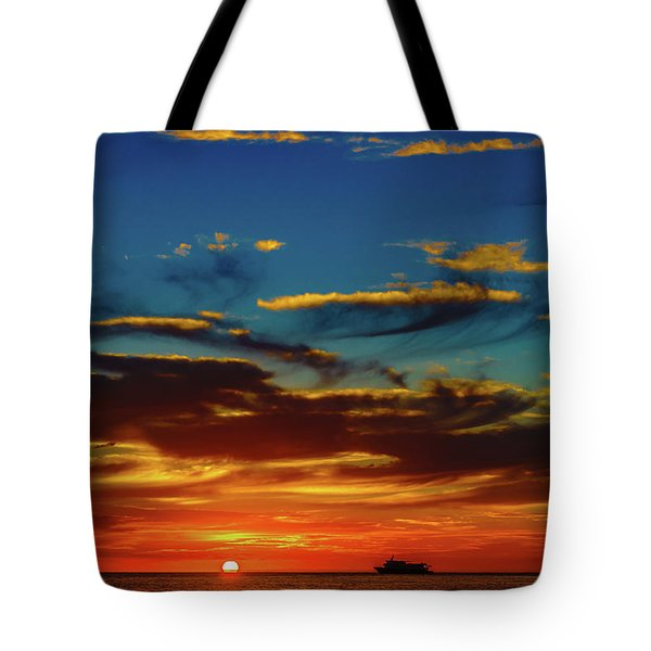 December 17 Sunset Tote Bag