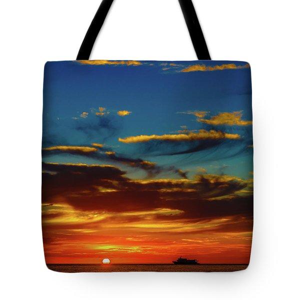 December 17 Sunset Tote Bag