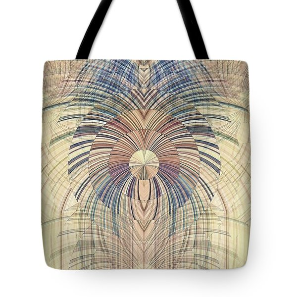 Tote Bag featuring the digital art Deco Wood by David Manlove