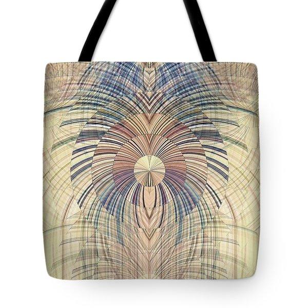 Deco Wood Tote Bag