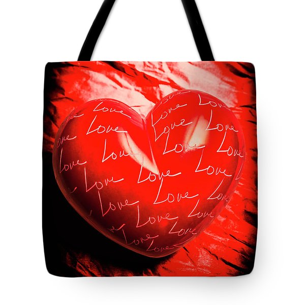 Decorated Romance Tote Bag