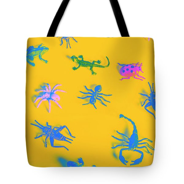 Decorative Creatures Tote Bag