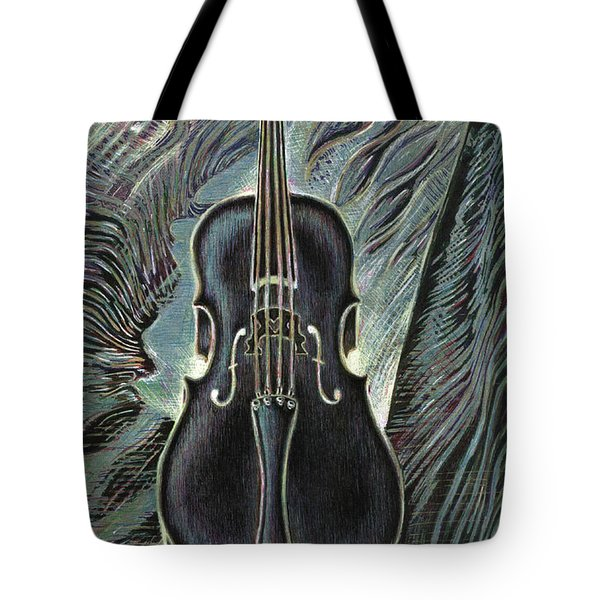 Deep Cello Tote Bag