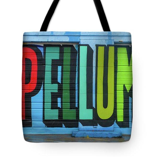 Deep Ellum Wall Art Tote Bag